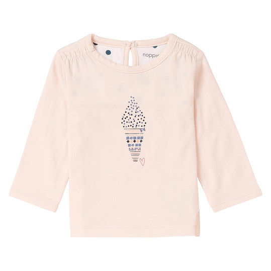 Langarmshirt Easton - Rosa - Gr. 50