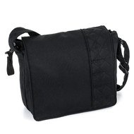 Wickeltasche City - Black Melange