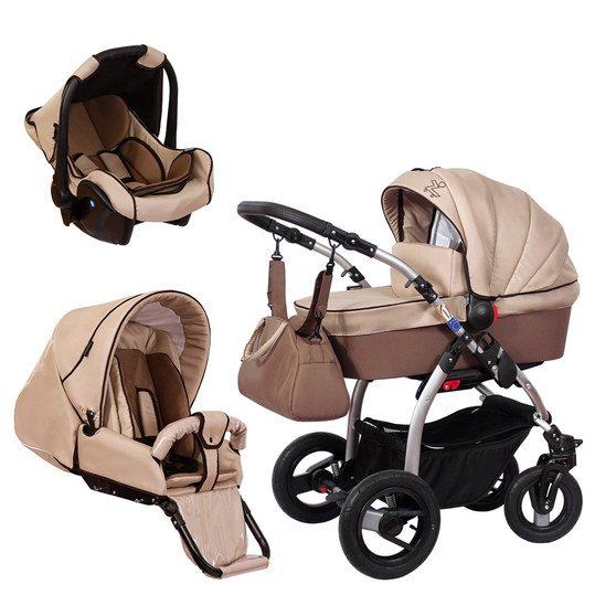 Kinderwagen-Set TriSet - Coffee