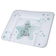 Folien-Wickelauflage You are my Star - Swedish Green