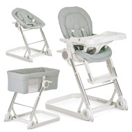 High chair, baby couch and extra bed Grow With Me 1-2-3 - Diamond Grey