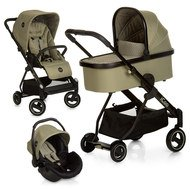 Kinderwagen-Set Acrobat XL Plus Trioset - Diamond Olive