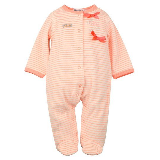 Overall Nicki Cute - Ringel Peach - Gr. 56