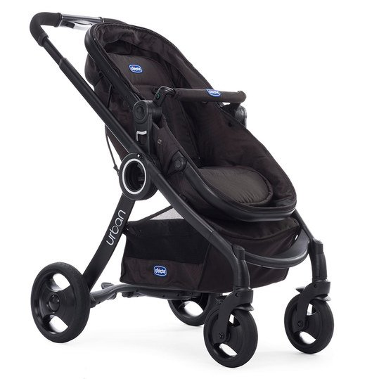 Kombi-Kinderwagen Urban Plus Crossover - Black