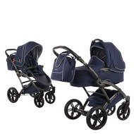 Kombi-Kinderwagen Voletto Emotion - Night Blue