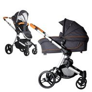 Kombi-Kinderwagen Joker - Fishbone Graphite