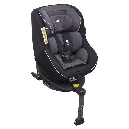Reboarder-Kindersitz Spin 360° - Two Tone Black