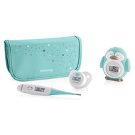 4-tlg. Thermometer-Set - Azure