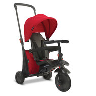 Smart Trike - Dreirad smarTfold 400 - 7 in 1 mit Touch Steering - Red