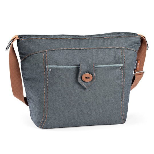Wickeltasche Borsa - Blue Denim