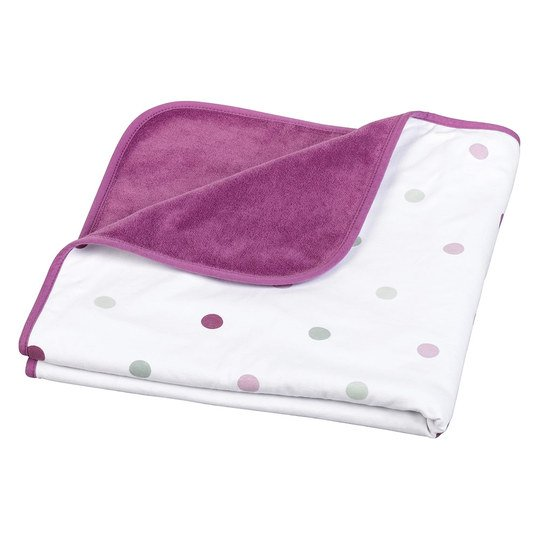 Baumwoll-Decke Baby Dream 75 x 75 cm - Pop Violett