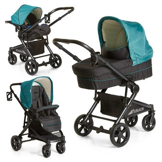 Kinderwagen-Set Atlantic Plus Trio Set - Everglade