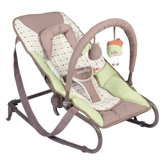 Babywippe Transat Bubble - Mandel Taupe